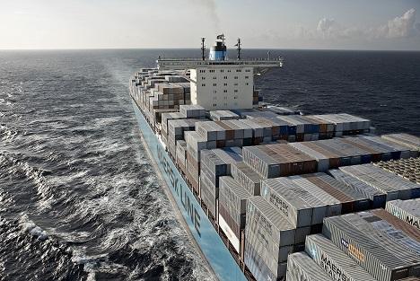 Foto © Maersk Schiff