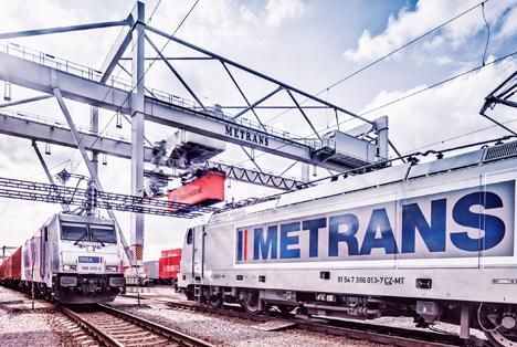 Loks der HHLA-Bahntochter Metrans. Foto © HHLA/Thies Rätzke