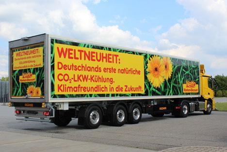 Netto Marken-Discount testet in Norddeutschland nachhaltige CO2-Transportkühltechnologie
