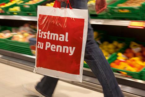 Penny Plastiktüte Foto Rewe Group