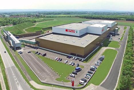 Neue SPAR-Logistikzentrum