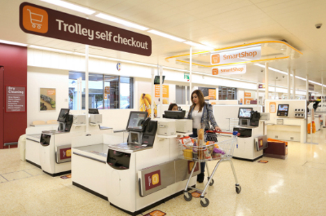 Checkouts Sainsbury's