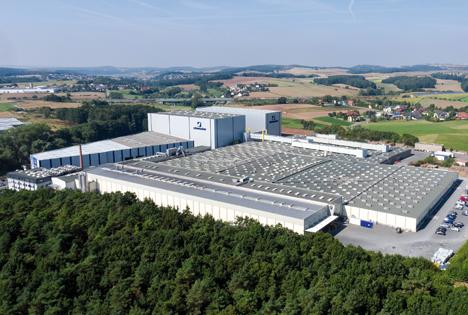 In Ebersdorf befindet sich das Stammwerk von Schumacher Packaging. Foto © Schumacher Packaging