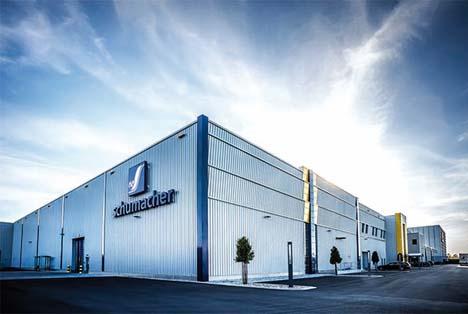 Schumacher Packaging steigert seinen Jahresumsatz auf 627 Mio. Euro
