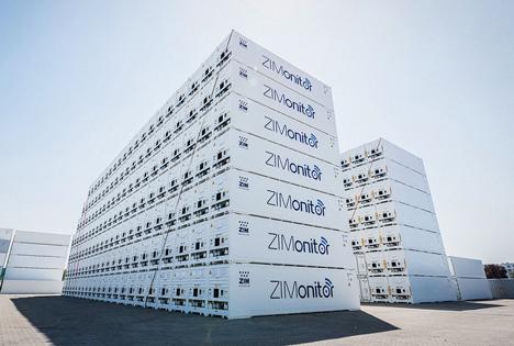 ZIM dehnt seine Flotte um 500 Star-Cool-Kühlcontainer aus