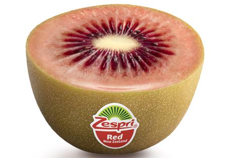 Zespri Kiwi rot. Foto © Zespri Group Ltd