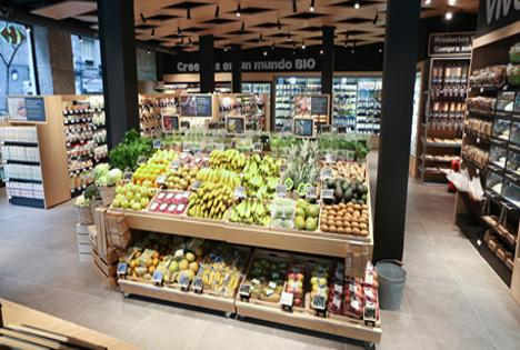 carrefour Bio Spanien Supermarkt