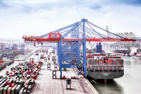 Foto Hamburger Hafen und Logistik AG