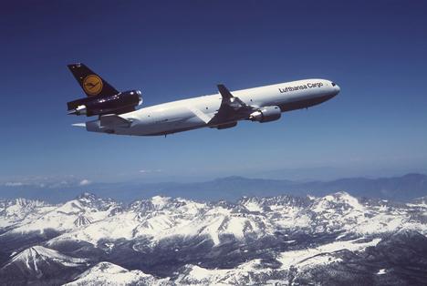 lufthansa cargo MD-11F im Reiseflug Photographer Boeing Foto © Lufthansa Cargo