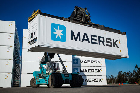 Maersk first-star-cool-integrated-reefer-containers-from-container-industry-san-antonio-chile Foto © Maersk Line