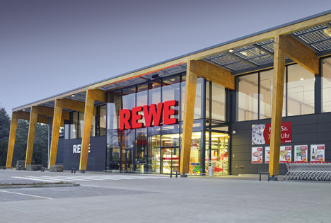 Foto Rewe Green Building
