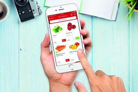 Rewe online Shop App