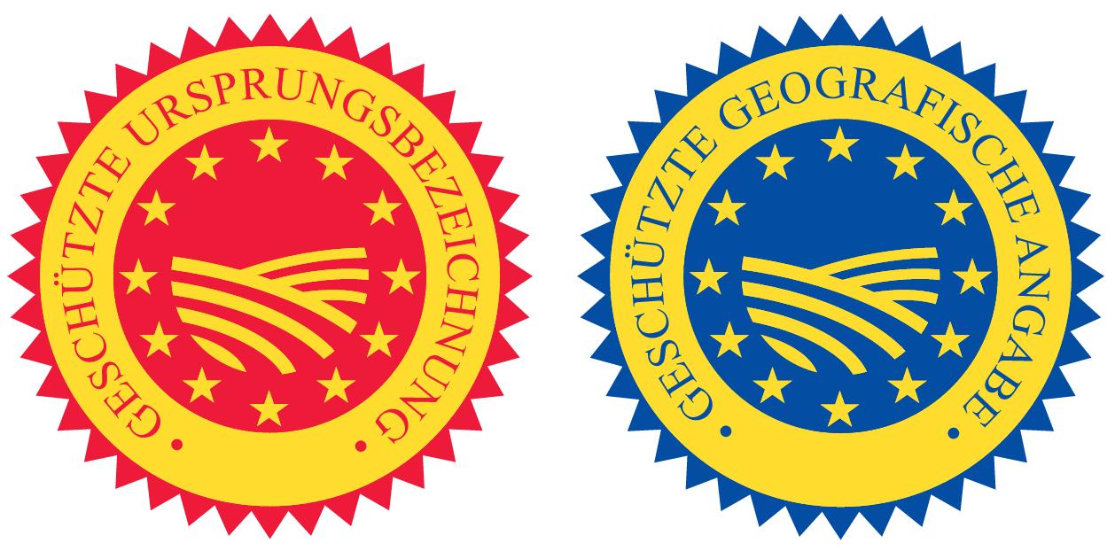 Geschützte Herkunftsangaben g. U. und g. g. A.