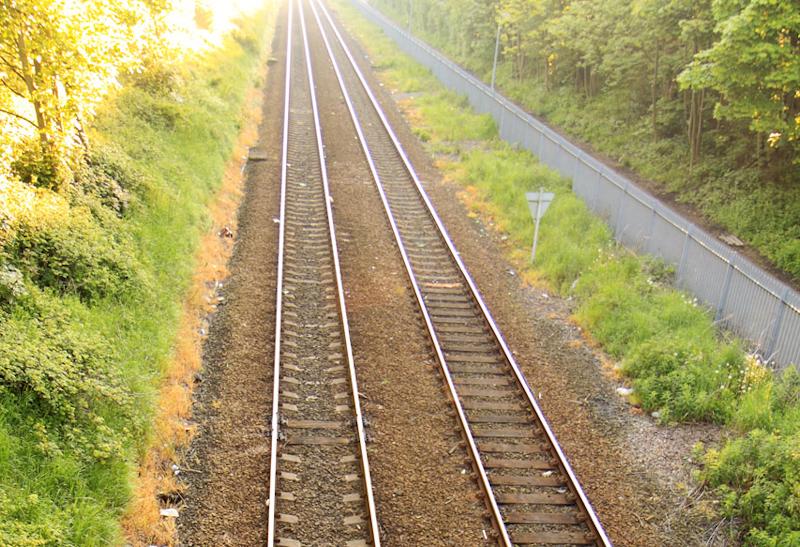 Bahnspur