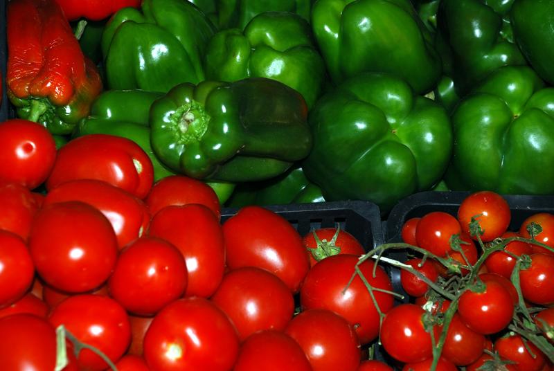 Tomaten Paprika