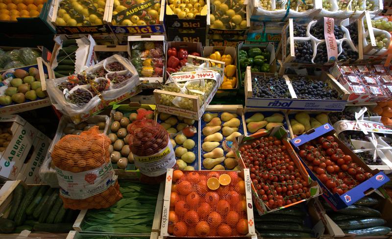 Grosshandel Obst Foto © Kreklau/DFHV