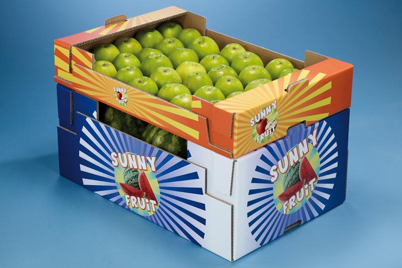 Welpappe Obst- und Gemüseverpackung Foto VDW