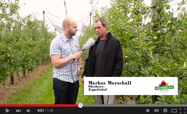 Äpfel vom Bodensee | Sommertour 2015