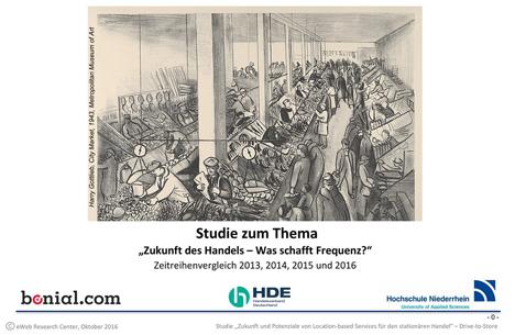 LBS-Handelsstudie 2016 - Cover Bild: HDE/Bonial International GmbH /Ots