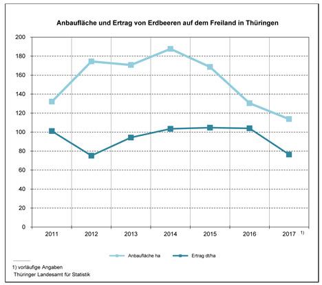 Grafik Erdbeeren 2017 Thüringer Landesamt für Statistik