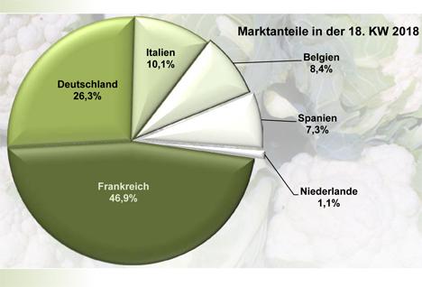 Grafik BLE-Marktbericht KW 18 / 18