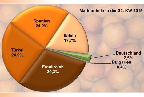 GRafik BLE-Marktbericht KW 32 Aprikosen