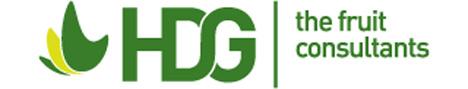 Logo HDG B.V., the fruit consultants