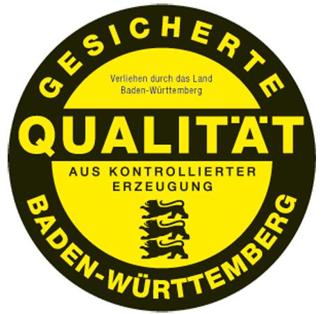 Logo: Qualitätszeichen Baden-Württemberg