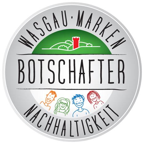 Wasgau Botschafter Logo Foto © WASGAU Produktions & Handels AG