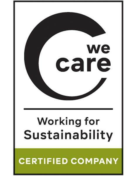 Logo We Care FiBL Deutschland e.V.