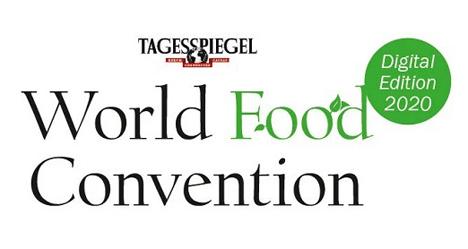 Logo World Food Convention - Digital Edition 2020