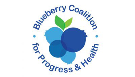 "Logo ""Blueberry Coalition for Progress & Health"""