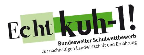 """Logo des Wettbewerbs """"Echt Kuh-l!"""""""