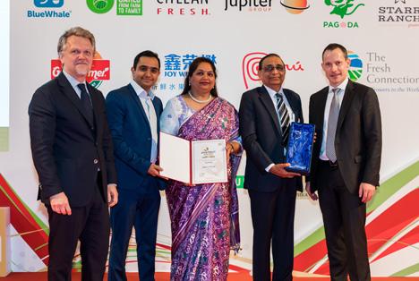 Asia Fruit Logistica 2019 - Asia Fruit Congress Award Winners. Foto © Global Produce Events GmbH