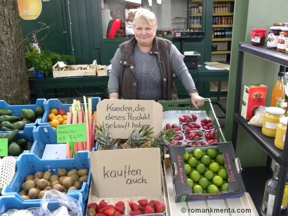 Obstverkäuferin Susanne aus Baden