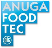 logo anuga foodtec blauw