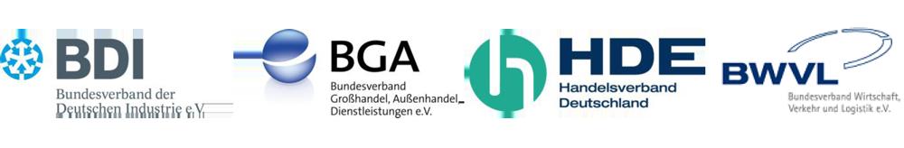 Gemeinsame Pressemitteilung von BDI, BGA, HDE, BWVL