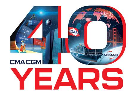 CMA CGM feiert 40 Jahre