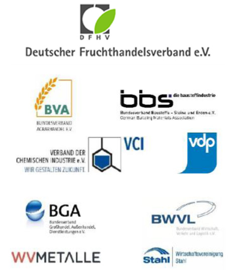 Logos Verbändeinitiative Verkehrsentlastung