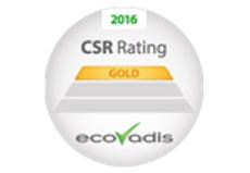 """Gold""-Rating von EcoVadis"