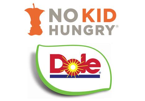 Logo © Dole/No Kid Hungry