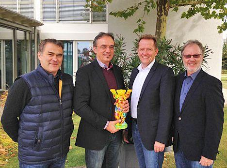 Boris Schwartz, Andreas Foidl, Uwe Kluge, Peter Joppa