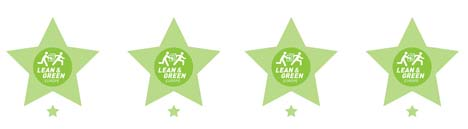 GS1 Germany Lean and Green 1st Star