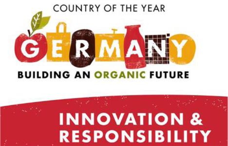 """Biofach 2017: Deutschland als """"Land des Jahres"""" logo"""
