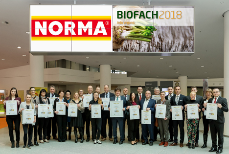 NORMA: Auch 2018 bester deutscher Bio-Händler!