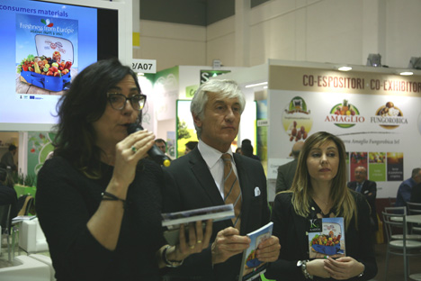 "CSO-Projekt ""Freshness from Europe"" auf Fruit Logistica präsentiert"