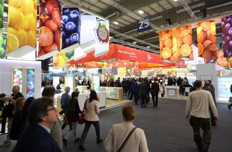 Exporte steigern auf der Fruit Logistica 2017