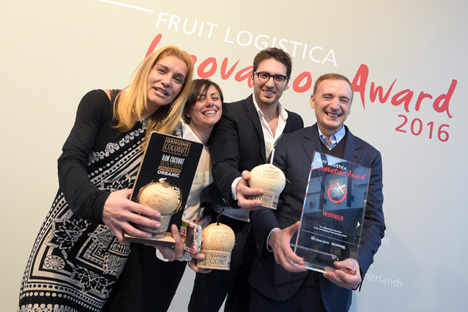 Genuine Coconut aus Spanien gewinnt Fruit Logistica Innovation Award