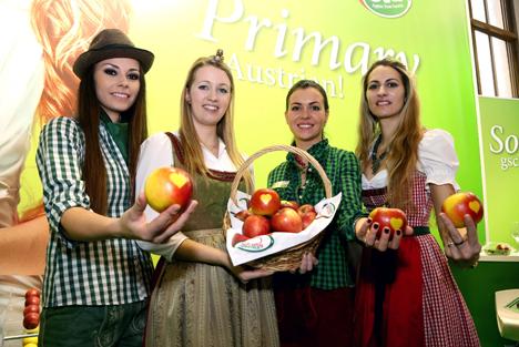 frisch-saftig-steirisch auf der Fruit Logistica: Der Apfel, der bewegt!