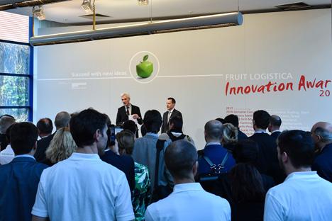 Fruit Logistica Innovation Award 2017. Messe Berlin